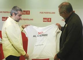 Rafael Sánchez (izq.) junto a Santiago Moreno (dcha.)