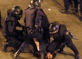'Barra libre' a los antidisturbios para frenar el 'rodeo' del 25-S al Congreso
