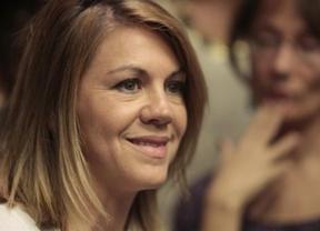 Cospedal, optimista ante el futuro electoral del PP frente a un PSOE 'que se hunde'