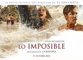 'Lo imposible': Bayona se disfraza de Spielberg, para lo bueno y para lo malo