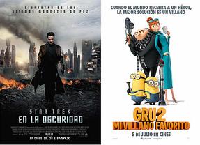 El verano deja secuelas: 'Gru2, mi villano favorito' y 'Star Trek: en la oscuridad' llegan a los cines
