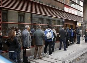 El paro de octubre indica casi un millón menos de desempleados que la EPA