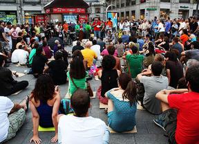 Miles de alumnos universitarios darán clase en las calles de Madrid