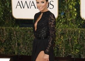 Así fue la alfombra roja de los Globos de Oro: Jennifer Lawrence, Megan Fox, Eva Longoria, estelares