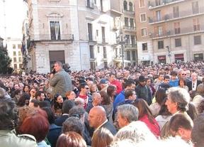 Valencia reabre las heridas del accidente de metro con una manifestación multitudinaria que exige responsabilidades