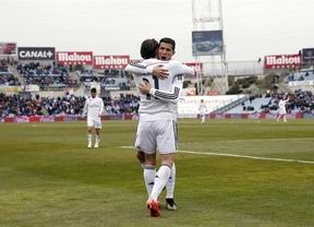 El Real Madrid 'cura sus heridas' con una victoria ante el Getafe (0-3)