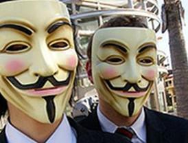 Anonymous quiere colapsar la web del PSOE por la 'Ley Sinde'