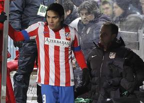 El Atlético respira: la lesión de 'matador' Falcao es menos grave de lo que se temía el club