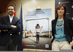 España es el segundo Estado de la Unión Europea que menos reduce la pobreza infantil, según Save The Children