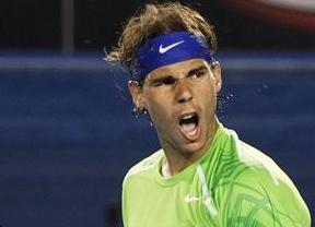 Nadal se 'entrena' en su debú en Indian Wells con paliza al argentino Mayer (6-1, 6-3)