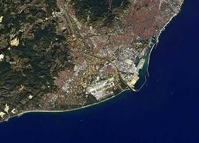 Así se ve Barcelona desde el espacio