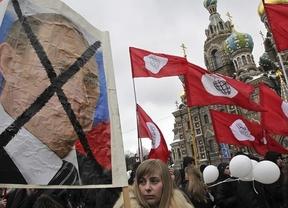 Putin celebra su victoria con cientos de detenidos en las protestas por fraude electoral