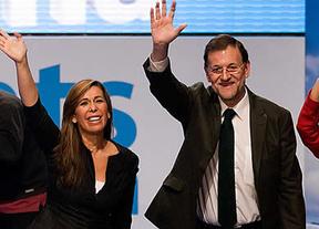 Interrumpen a Rajoy en un mitin al grito de