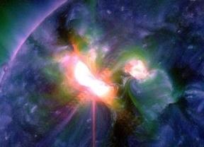 En dos días se han registrado 13 grandes llamaradas solares
