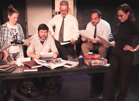 'La ciudad oscura', de Antonio Rojano, un apasionante rompecabezas teatral, con nuestra historia más reciente de fondo