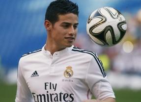 El Real Madrid confía en recuperar a James al menos para la finalísima del 'mundialito'