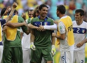 Los penaltis sí sonríen a Italia en la lucha por el tercer puesto frente a Uruguay (2-2)