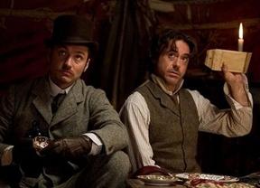'Sherlock Holmes: Juego de sombras' puede con todos en la taquilla internacional