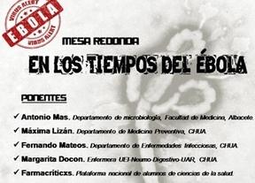 La Facultad de Medicina de Albacete celebra el 22 de octubre una mesa redonda sobre el ébola