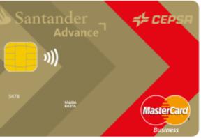 Santander y Cepsa lanzan una tarjeta de crédito para empresarios y autónomos