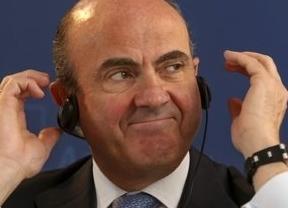 Guindos, pillado por los micrófonos: