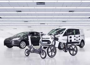 Ford presenta un proyecto de movilidad con bicicleta eléctrica en el Mobile World Congress de Barcelona