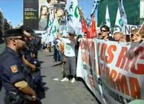La protesta de los funcionarios continúa: esta noche se manifiestan en Génova, Ferraz, Sol y el Congreso