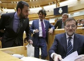 El Gobierno de Zapatero impuso la presencia de sus escoltas en los plenos del Senado