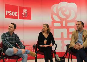 El candidato del PSOE promete recuperar el impulso de Cabanillas (Guadalajara)