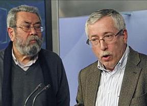 Los sindicatos aprovechan y piden al Gobierno 'reflexión' tras resultados electorales