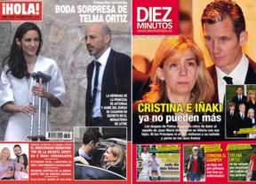 Telma Ortiz se casa en secreto pero 'Hola' se lo chafa publicándolo en su portada de hoy