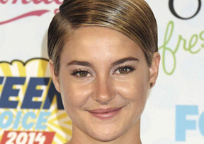 La actriz Shailene Woodley triunfa en los Teen Choice Awards