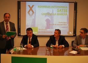SATSE reelige a Alejandro Laguna como secretario general en Castilla-La Mancha