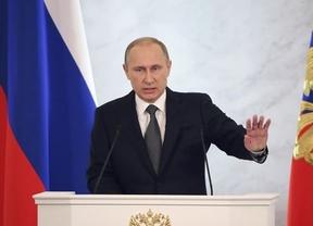 Putin coloca a EEUU y la OTAN como amenazas externas de Rusia