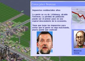 Los recortes de Rajoy hundirían el 'Simcity'