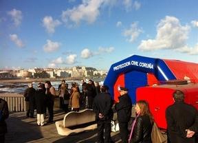 Localizado el cuerpo del tercer policía desaparecido en Coruña