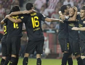 Barcelona y Atlético en busa del liderato en Liga de Campeones