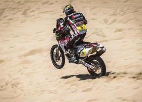 Barreda gana su cuarta etapa del Dakar y Despres recupera el liderato