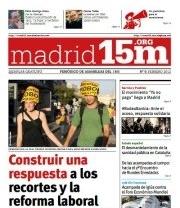 El 15-M ya tiene en Madrid su propio periódico impreso
