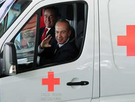 Inició este jueves 31 de marzo, el presidente FCH, la colecta anual de la Cruz Roja Mexicana en 2011