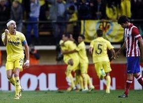 El 'submarino amarillo' frena al Atlético en un partidazo de buen fútbol por ambas partes en El Madrigal (1-1)