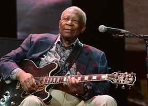 Problemas de salud para el rey del blues: B.B King, hospitalizado