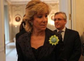 La mamandurria persigue a Esperanza Aguirre