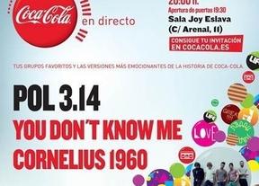 Coca-Cola celebra sus 125 años por todo lo alto: Pol 3.14 y You Dont Know Me en la Joy Slava