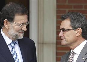 Artur Mas vuelve a elegir la sede de la Generalitat en Madrid para informar a los medios de la reunión con Rajoy