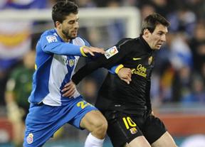 El Espanyol vuelve a hacer un favor al Madrid: empata al Barça, que queda a 5 puntos (1-1)