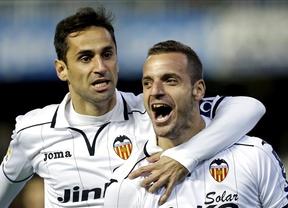 El Valencia rompe su mala racha ante un buen Getafe (4-2)