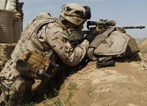 El Supremo rebaja la pena a un maltratador por... ¡haber servido en Afganistán!