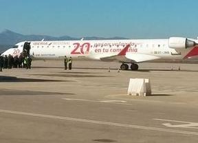 ¡Despega el primer avión comercial del aeropuerto 'fantasma' de Castellón!