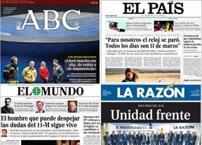 En los editoriales de la prensa aún se alimentan las dudas sobre la autoría del 11-M